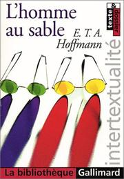 Cover of: L'Homme au sable