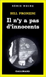 Cover of: Il n'y a pas d'innocents