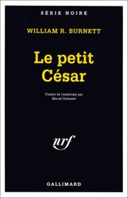 Cover of: Le petit César