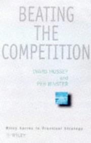 Cover of: Competitor intelligence
