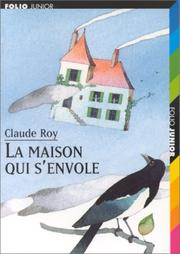 Cover of: La maison qui s'envole