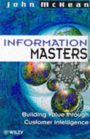 Cover of: Information Masters | John McKean