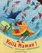 Cover of: Voilà maman !