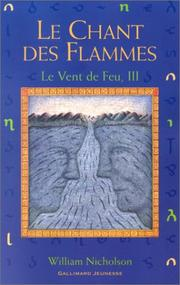 Cover of: Le Vent de feu, tome 3
