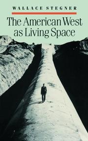 Cover of: The American West as living space