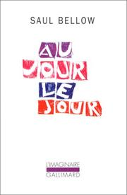 Cover of: Au jour le jour