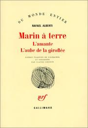 Cover of: Marin à terre