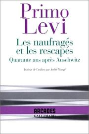 Cover of: Les Naufrages