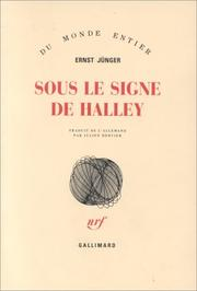Cover of: Sous le signe de Halley