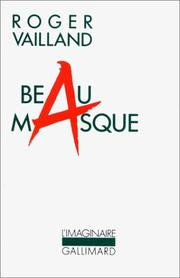 Cover of: Beau masque