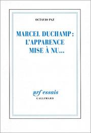 Cover of: Marcel Duchamp