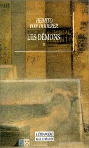 Cover of: Les démons