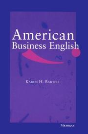 Cover of: American business English