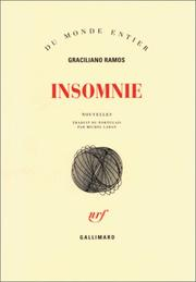 Cover of: Insomnie