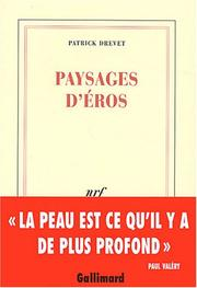 Cover of: Paysages D'Eros