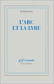 Cover of: L' arc et la lyre