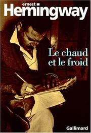 Cover of: Le chaud et le froid