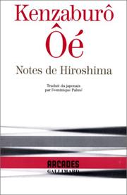 Cover of: Notes de Hiroshima