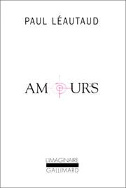 Cover of: Amours