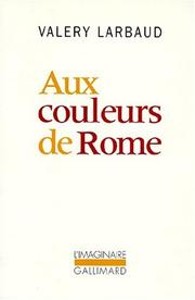 Cover of: Aux couleurs de Rome