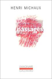 Cover of: Passages, 1937-1963
