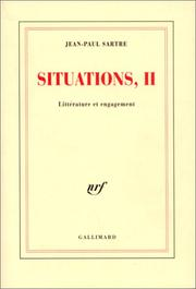 Cover of: Situations, tome 2: Littérature et engagement