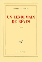 Cover of: Lendemain de Reves