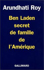 Cover of: Ben Laden secret de famille de l'Amérique