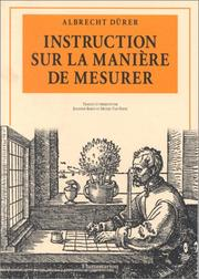 Cover of: Instruction sur la manière de mesurer