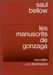 Cover of: Les Manuscrits de Gonzaga