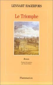 Cover of: Le triomphe