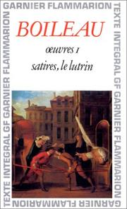 Cover of: Oeuvres 1