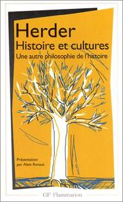 Cover of: Histoire et cultures