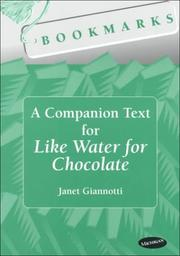 Cover of: A companion text for Like water for chocolate