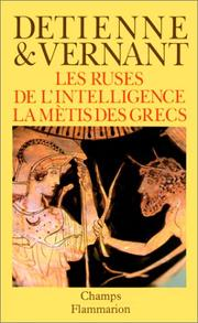 Cover of: Les Ruses de l'intelligence | Marcel Detienne
