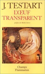 Cover of: L' Oeuf transparent