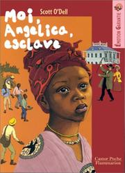 Cover of: Moi, Angelica, esclave