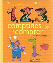 Cover of: 1, 2, 3 comptines à compter