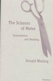 Cover of: The Scissors of Meter | Donald Wesling
