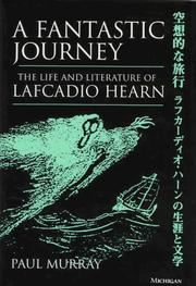 Cover of: A fantastic journey | Murray, Paul