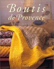 Cover of: Boutis de Provence
