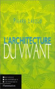 Cover of: L'Architecture du vivant