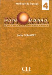 Cover of: Panorama De La Langue Francaise by Girardet, J.M. Cridlig
