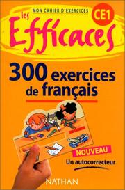 Cover of: Français CE1, 300 exercices by Maurice Obadia, Alain Rausch