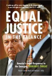Cover of: Equal justice in the balance | Raneta Lawson Mack