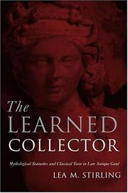 Cover of: The Learned Collector | Lea Stirling