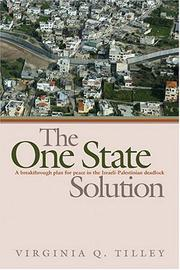 Cover of: The One-State Solution | Virginia Tilley