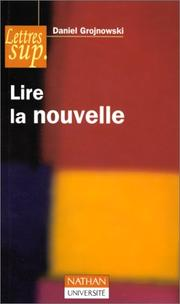 Cover of: Lire la nouvelle