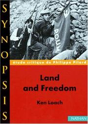 Cover of: Land and Freedomde Ken Loach, étude critique