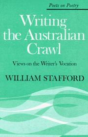 Cover of: Writing the Australian crawl